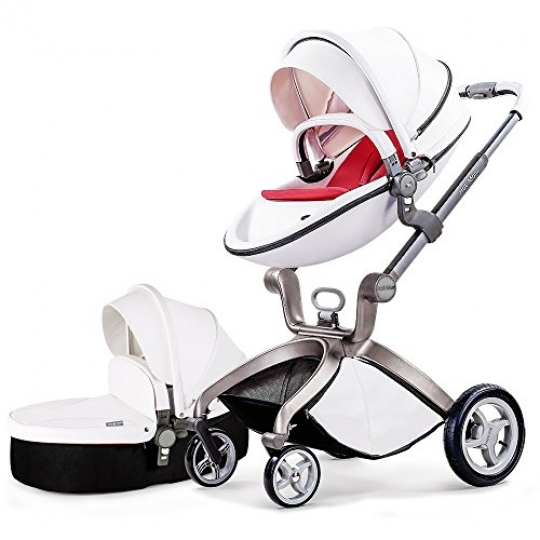 High-End-Baby-Stroller-2017-3-in-1-Travel-System-Baby-Carriage-with-Bassinet-Combo-0