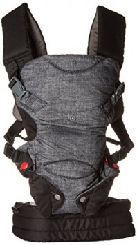 Infantino-Fusion-Flexible-Position-Baby-Carrier-Grey-0