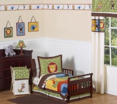 Jungle-Time-Kids-Toddler-Bedding-5-pc-Set-by-Sweet-Jojo-Designs-0