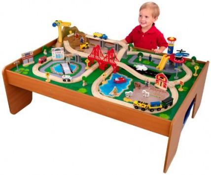KidKraft-Ride-Around-Train-Set-and-Table-0