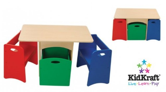 KidKraft-Table-with-Primary-Benches-0