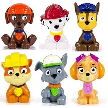 Kids-Paw-Patrol-Mini-Figures-Set-of-6-Rocky-Zuma-Skye-Rubble-Marshall-Chase-0