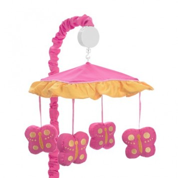 Pink-and-Orange-Butterfly-Collection-Musical-Crib-Mobile-by-Sweet-Jojo-Designs-0