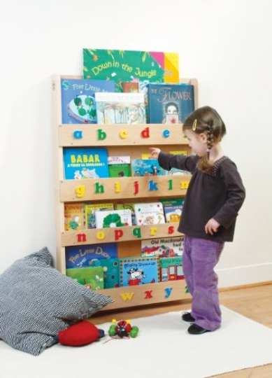 Tidy Books - The Original Kid's Bookshelf. Front Facing Book ...