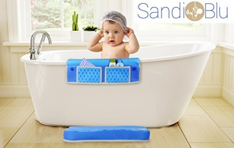 TubTech Bath Elbow Rest for Baby Bath Time, Elbow Rest is Placed ...